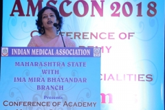 Dr.Rinky Kapoor as invited guest speaker on Advances in cosmetic dermatology, at the annual conference of medical specialities of Indian medical association Mira Bhayander branch of Indian Medical Association, on 14th O (1)